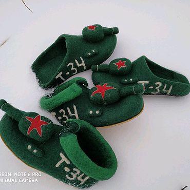 Обувь ручной работы. Ярмарка Мастеров - ручная работа Танки. Handmade.