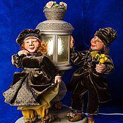 Куклы и игрушки ручной работы. Ярмарка Мастеров - ручная работа Свидание. Карл и Клара. Handmade.