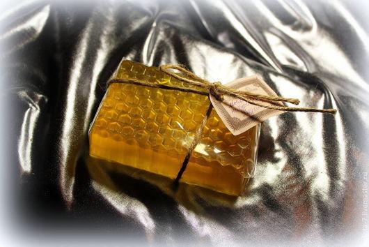 Мыло ручной работы. Ярмарка Мастеров - ручная работа. Купить Мыло Медовое. Handmade. Желтый, натуральное мыло, медовое мыло
