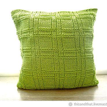 Textiles handmade. Livemaster - original item 20% DISCOUNT on Decorative pillow case sofa cushion. 3 colors. Handmade.