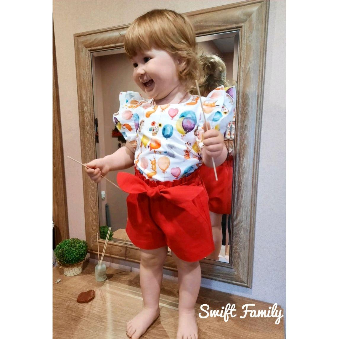 Блуза и шорты в разных вариантах тканей, Комплекты одежды, Самара,  Фото №1