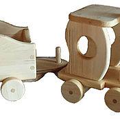 Мягкие игрушки ручной работы. Ярмарка Мастеров - ручная работа Паровоз. Handmade.