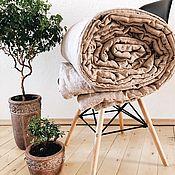 Для дома и интерьера handmade. Livemaster - original item Linen blanket. 100% linen. Softened. NO SYNTHETIC.. Handmade.