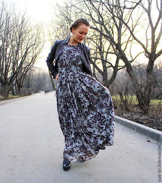 """Платья ручной работы. Ярмарка Мастеров - ручная работа. Купить Длинное платье в пол """"Флоренц"""". Handmade. Длинное платье в пол"""