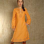 Dresses handmade. Livemaster - original item Tunic dress. Handmade.