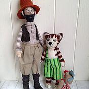 Куклы и игрушки ручной работы. Ярмарка Мастеров - ручная работа Петсон и Финдус. Handmade.