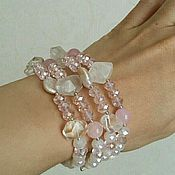 Украшения handmade. Livemaster - original item Bracelet `Rose sensuale`. Handmade.