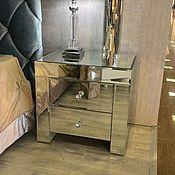 Для дома и интерьера handmade. Livemaster - original item Mirrored nightstand. Handmade.