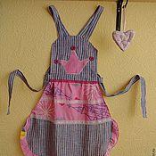 """Для дома и интерьера ручной работы. Ярмарка Мастеров - ручная работа Детский фартук """"Принцесса"""". Handmade."""
