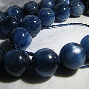 Материалы для творчества handmade. Livemaster - original item Kyanite, 10mm, kyanite genuine, high quality. Handmade.