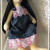 Куклы и игрушки ручной работы. Ярмарка Мастеров - ручная работа Тильда Зайчиха Аля. Handmade.