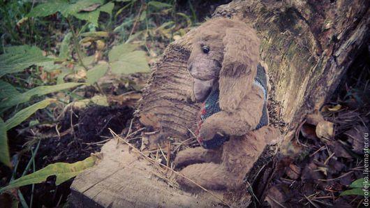 Мишки Тедди ручной работы. Ярмарка Мастеров - ручная работа. Купить Кролик-дедушка. Кролик Тедди.. Handmade. Коричневый, шерсть
