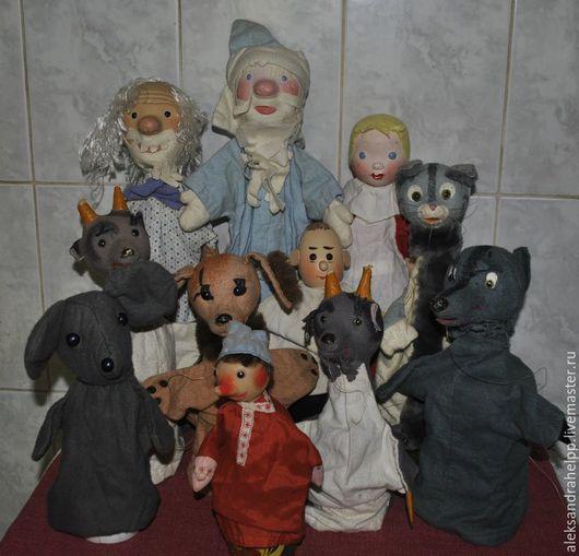 Винтажные куклы и игрушки. Ярмарка Мастеров - ручная работа. Купить - 30%! Антикварный Кукольный Театр. Handmade. Комбинированный, этеатр, пластик