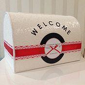 Свадебный салон ручной работы. Ярмарка Мастеров - ручная работа Сундучок для конвертов. Handmade.
