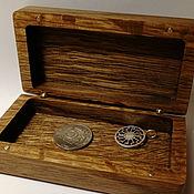 Коробки ручной работы. Ярмарка Мастеров - ручная работа Коробка из термированного дуба. Handmade.
