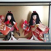 """Игрушки ручной работы. Ярмарка Мастеров - ручная работа Японская интерьерная кукла """"Танцовщицы"""". Handmade."""