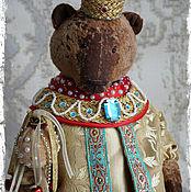 Куклы и игрушки ручной работы. Ярмарка Мастеров - ручная работа Царь Дадон - коллекционный плюшевый медведь. Handmade.