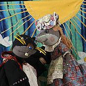 Куклы и игрушки handmade. Livemaster - original item Puppet theatre: A Performance Of Thumbelina. Handmade.