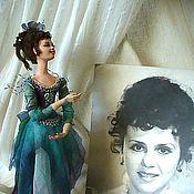 """Куклы и игрушки ручной работы. Ярмарка Мастеров - ручная работа Портретная кукла """"Рена"""" Подарена.. Handmade."""