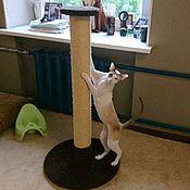 Зоотовары handmade. Livemaster - original item Giant scratching posts for large cats. Handmade.