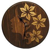 Часы классические ручной работы. Ярмарка Мастеров - ручная работа Декоративные настенные часы. Handmade.