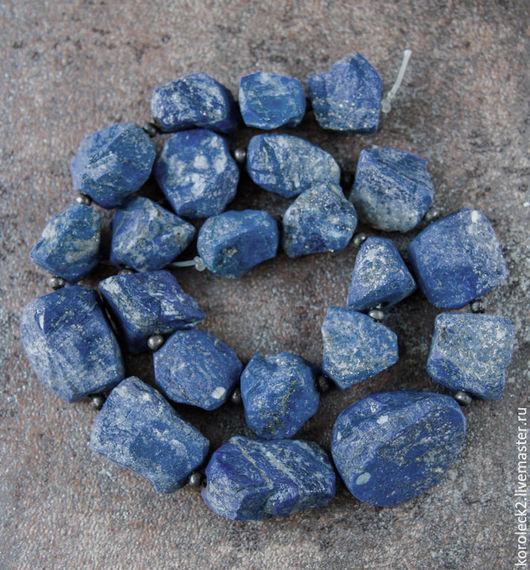Для украшений ручной работы. Ярмарка Мастеров - ручная работа. Купить Бусины-кристаллы афганского лазурита.. Handmade. Бусины