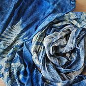 Аксессуары handmade. Livemaster - original item Scarf silk crinkled