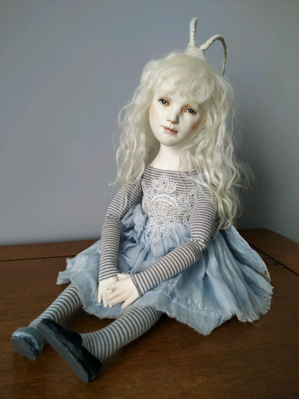 Будуарная кукла Шелкопряд, Куклы и пупсы, Москва,  Фото №1