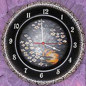 Для дома и интерьера handmade. Livemaster - original item Watch cedar Night Sakura. Handmade.