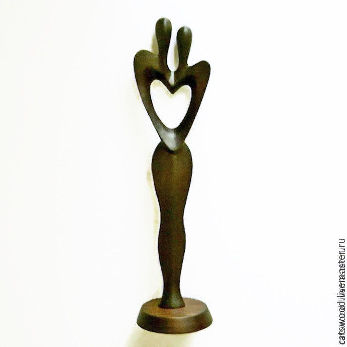 Figurines handmade. Livemaster - handmade. Buy sculpture of wood 'two in one flesh'.Wedding, original gift, anniversary