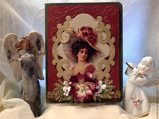 """Открытки на все случаи жизни ручной работы. Ярмарка Мастеров - ручная работа. Купить Открытка """"Драгоценная ты моя женщина"""". Handmade. открытки"""