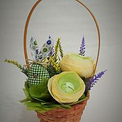 Цветы и флористика handmade. Livemaster - original item Composition Easter. Handmade.