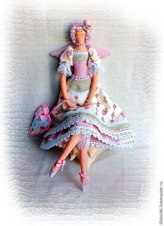 Куклы Тильды ручной работы. Ярмарка Мастеров - ручная работа. Купить Фея хранительница домашнего очага кукла тильда. Handmade.