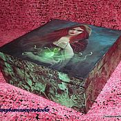 Для дома и интерьера ручной работы. Ярмарка Мастеров - ручная работа Шкатулка Ведьма. Handmade.