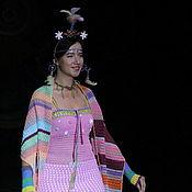 Одежда ручной работы. Ярмарка Мастеров - ручная работа Лесная царевна Весна- карнавальный костюм, наряд для фотосессии. Handmade.