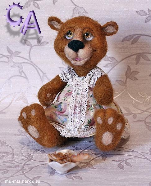 Мишки Тедди ручной работы. Ярмарка Мастеров - ручная работа. Купить Настена-сластена. Handmade. Медведь