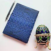Канцелярские товары handmade. Livemaster - original item Notepad from Python. Handmade.