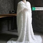 handmade. Livemaster - original item 3D knitwear, imitation of feathers. the Swan Princess. Handmade.