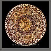 Картины и панно ручной работы. Ярмарка Мастеров - ручная работа Декоративная тарелка. Handmade.