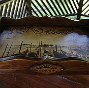 Для дома и интерьера handmade. Livemaster - original item Tray table
