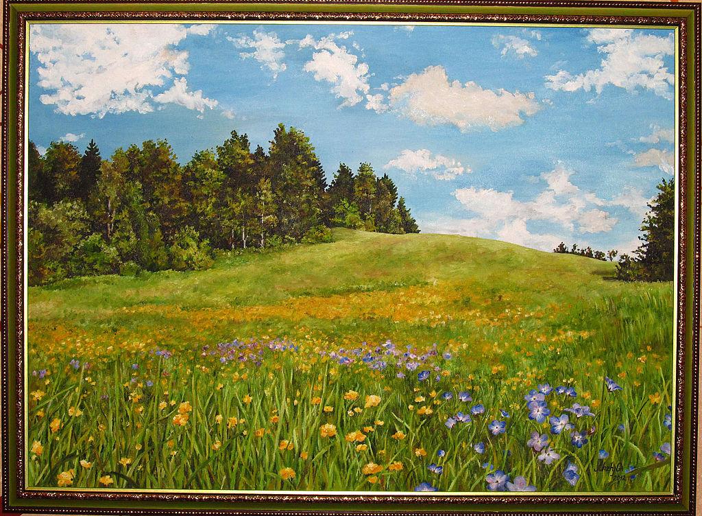 картина лесная поляна точки зрения аюрведической