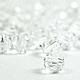 Бусина 6мм Swarovski, цвет Crystal, прозрачные бусины Сваровски, прозрачные бусины Swarovski. Сваровски бусины, Сваровски прозрачные бусины, Сваровски купить бусины.
