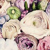 Картины ручной работы. Ярмарка Мастеров - ручная работа Картина маслом Нежность 50х70 см. Handmade.