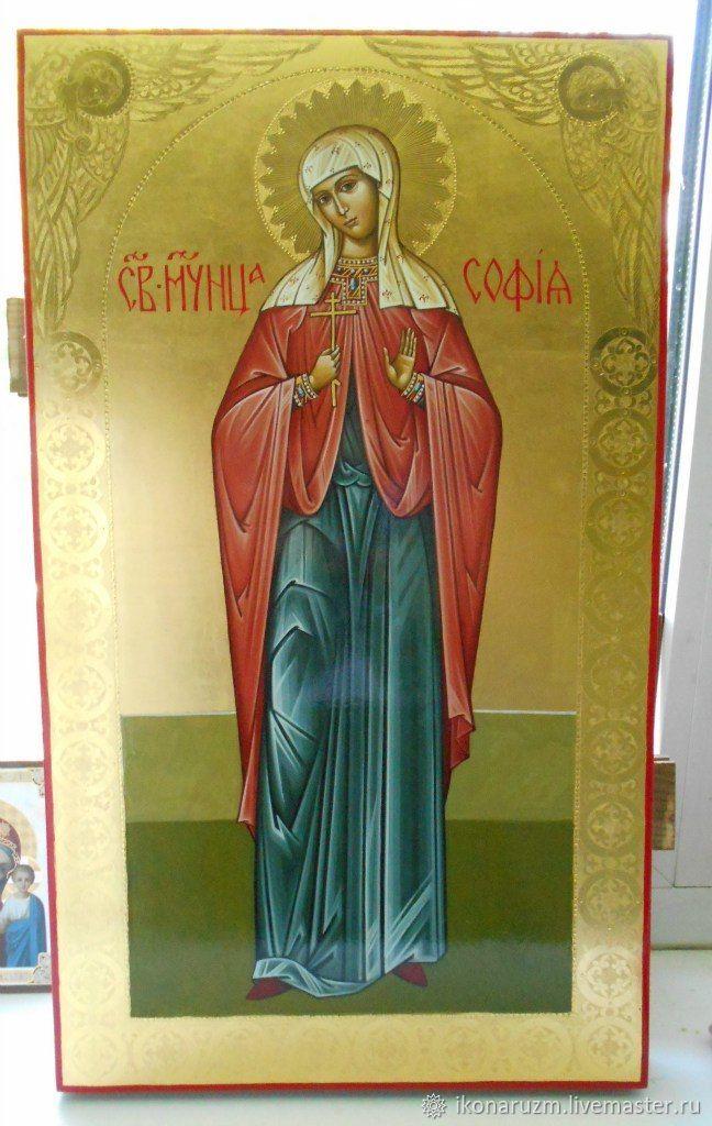 Икона Св мученицы Софии, Иконы, Санкт-Петербург,  Фото №1