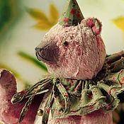 """Куклы и игрушки ручной работы. Ярмарка Мастеров - ручная работа Медведь """"Лимонад"""". Handmade."""