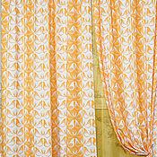 Для дома и интерьера ручной работы. Ярмарка Мастеров - ручная работа Шторы с вуалью из Ракульской коллекции Домашний текстиль. Handmade.