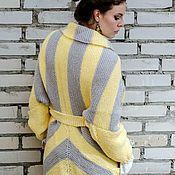 Одежда handmade. Livemaster - original item Knitted coat in BOHO style