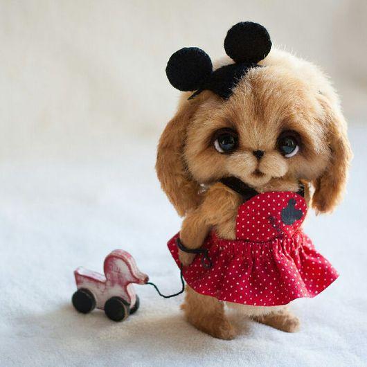 Мишки Тедди ручной работы. Ярмарка Мастеров - ручная работа. Купить Зайка Поли. Handmade. Зайка, тедди мишка, хлопок
