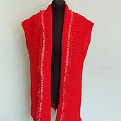 Одежда handmade. Livemaster - original item Red Vest