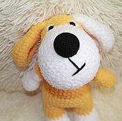 Мягкие игрушки ручной работы. Ярмарка Мастеров - ручная работа Озорная собачка. Handmade.
